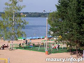 Plaża gminna - Kruklanki k. Giżycka