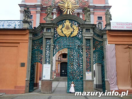 święta Lipka Sanktuarium Maryjne święta Lipka Mazury Mazury