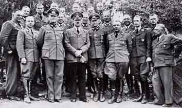 Adolf Hitler w Wolfschanze
