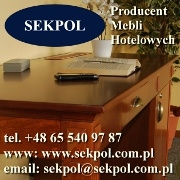 Meble hotelowe - Sekpol